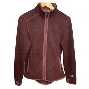 Kuhl fleece purple zip jacket small